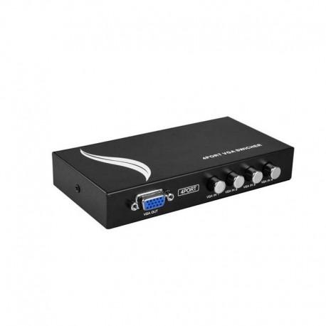 دیتا سوئیچ 1 به 4 VGA مارک MT-ViKI با قابلیت واید اسکرین