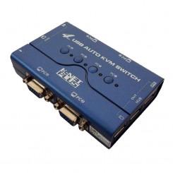 سوییچ Auto kvm k-net VGA Usb 4*1