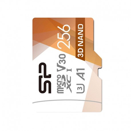 Micro SD: Silicon Power Superior Pro V30 256GB With Adapter