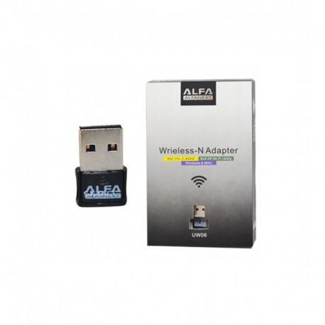 کارت شبکه USB بی سیم آلفا مدل UW06