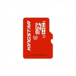 کارت حافظه microsd کینگ استار کلاس 10 UHS-I U1همراه با آداپتور SD ظرفیت 32 گیگابایت