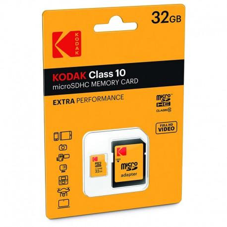 کارت حافظه SDHC کداک کلاس 10 استاندارد UHS-I U1 سرعت 85MBps 580X ظرفیت 32 گیگابایت