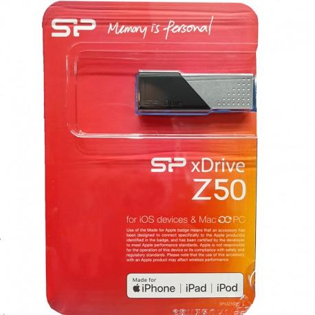 فلش مموری سیلیکون پاور مدل Z50 ظرفیت 32 گیگابایت