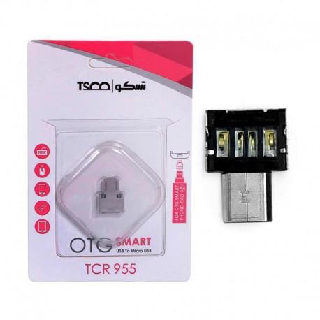 تبدیل OTG Micro USB به USB و کارت خوان تسکو مدل TCR 955C